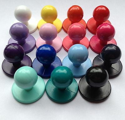 Chef Studs / Buttons / Colour Choice / Pack Of 12