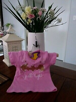 Baby Girls Pink Batgirl Top. Size 00. Batgirl Brand.new With Tags.