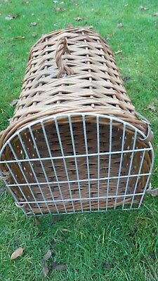 Vintage Cat Carry Basket
