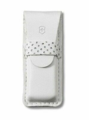 Victorinox SwissArmy White Leather Pouch For Tomo #4.0762.7