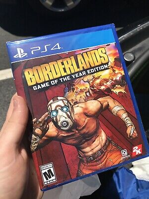 Borderlands Game Of The Year Edition PS4 New In Hand