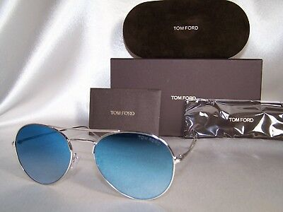 33f7a1b0ef9c AUTHENTIC TOM FORD FT0551 ACE-02 18X Silver Sunglasses -  234.99 ...