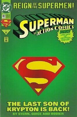 Action Comics (Vol 1) # 687 (VFN+) (VyFne Plus+) (CvrA) DC Comics ORIG US