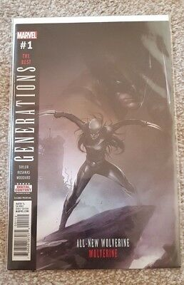 Marvel Generations Wolverine #1 The Best Mattina Variant First Print Brand New!
