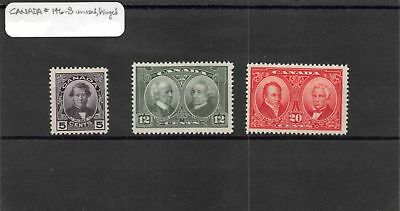 Lot of 10 Canada MH Mint Hinged Stamps Scott Range 138 - 181 #136944 X R