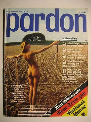 Pardon 1978 Nr. 11 November - Parodie - Satire