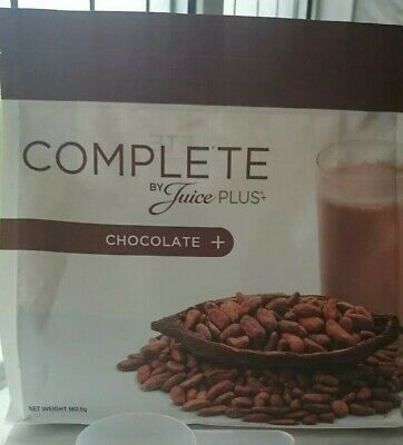Brand new juice plus chocolate shake 562.5g bb from 09/2019 free scoop if needed