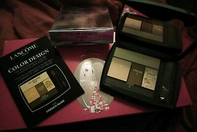 Lancome COLOR DESIGN 5 SHADOW & LINER Palette CHOOSE YOUR SHADE Full Size BNIB