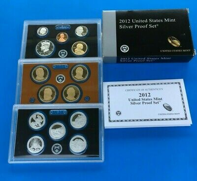 2012-S United States Mint Silver Proof Set