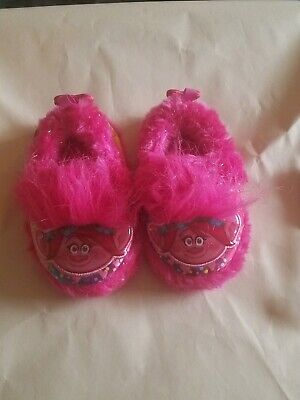 Trolls Slippers Toddler Girl/'s size 9//10 or 11//12 Slip-On New w//Tags
