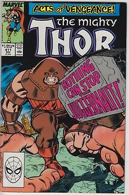 Thor 411 (1st Cameo app The New Warriors) & 412 (1st full app The New Warriors)