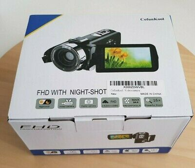 Video Camera Camcorder - YouTube Vlogging - HD 1080P 24.0MP 3.0 Inch