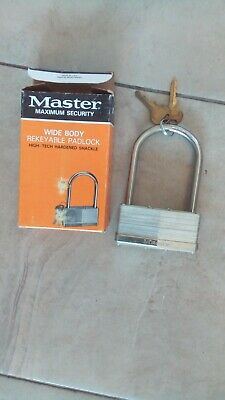 master maximum security padlock