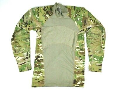 NEW! US ARMY Issued FR ACU Combat Shirt OCP Scorpion Multicam SMALL REGULAR  S-R