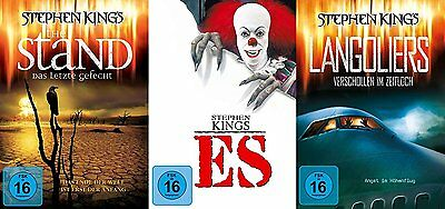 STEPHEN KING Collection THE STAND LETZTE GEFECHT + ES + LANGOLIERS 4 DVD Edition