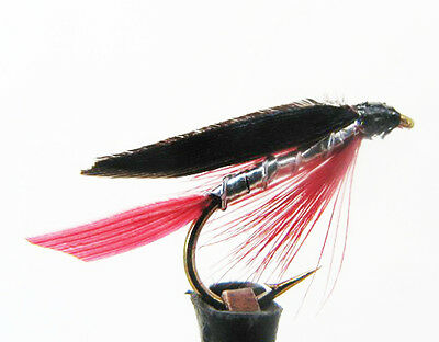 Bloody Butcher Wet Flies  Top Quality Flies Choice of Qty & Size Sea Trout Flies