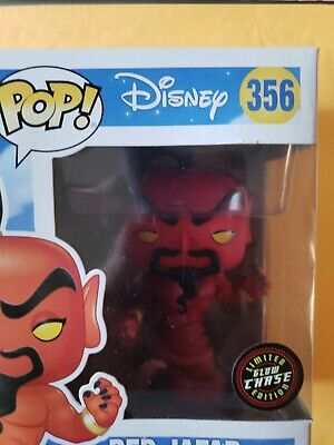 Red Jafar Disney Chase Aladdin Funko Pop! Vinyl figure new sealed