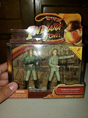 Indiana Jones GERMAN SOLDIERS 2-Pack Raiders of the Lost Ark Hasbro New Sealed
