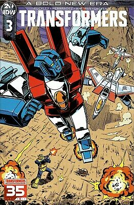 Transformers #3 (2019) IDW. Special 1:10 Guidi Variant *WE COMBINE SHIPPING*