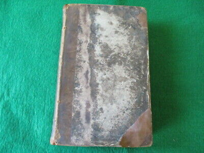REVIEW of FOXS BOOK of MARTYRS by W.E. ANDREWS 1824 2 VOLS IN 1 BOOK LONDON RARE
