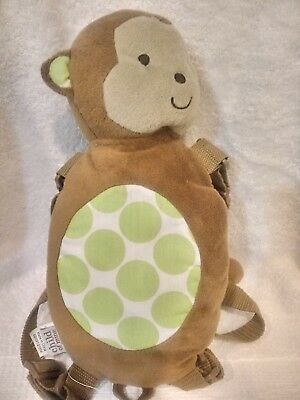 Child of Mine Carter's Kid Unisex Monkey Safety Harness Backpack No Leash