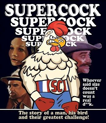 SUPERCOCK (1975) Brand New Gus Trikonis Exploitation Cult Movie Blu-ray release!