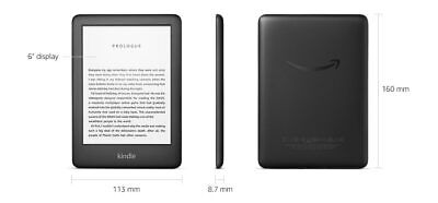 Amazon Kindle (10th Generation-2019) 4GB, Wi-Fi - Black now with Back light