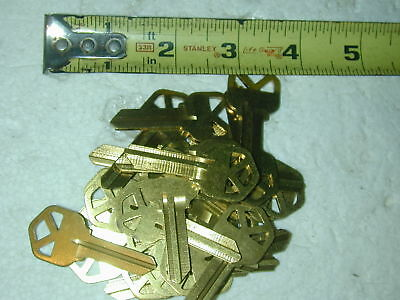 75  Blanks Key Brass 1063KW- BR For Locksmith Kwikset