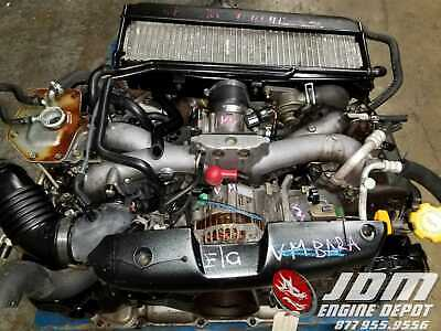 01 03 SUBARU Forester Sg5 Avcs Turbo Engine At Swap Ej205
