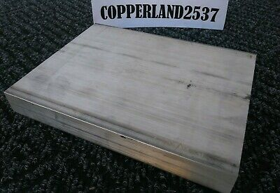"1"" X 6"" X 8"" long new 6061 T6511 solid aluminum plate flat bar stock mill block"
