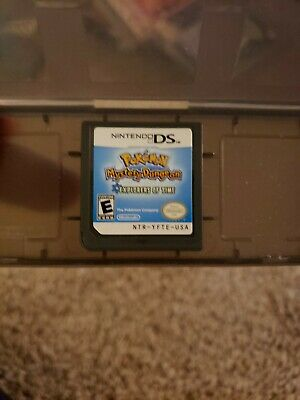 Pokemon Mystery Dungeon Explorers of Time Nintendo DS Game Very Good Condition