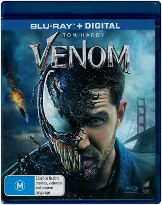 """VENOM"" Blu-ray + Digital - Region Free [B][A][C] BRAND NEW"