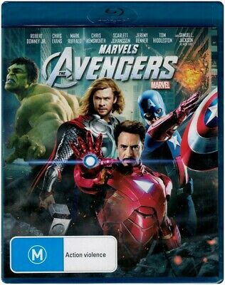 "Marvels ""THE AVENGERS"" Blu-ray, Region [B] BRAND NEW"