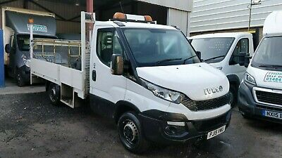 Iveco Daily Dropside Tail Lift Pickup Accident Damaged Salvage