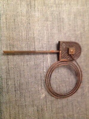 "Clock Chime Gong 7X5.5""  Antique Mantle Clock Spare Part"