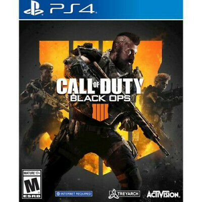 NEW Call of Duty Black Ops 4 IIII IV (Sony PlayStation 4 PS4) Brand New Sealed