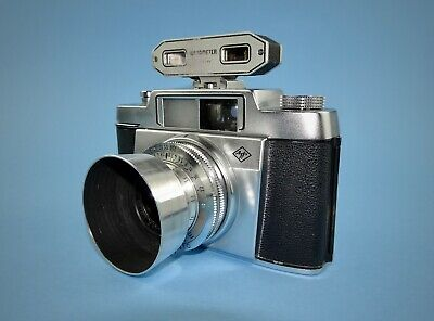 Agfa Silette 35mm camera with Watameter rangefinder in good condition