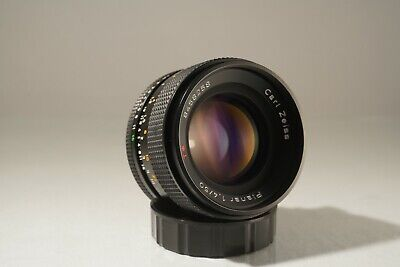 CARL ZEISS CONTAX YASHICA 50mm f 1.4 LENS. EXCELLENT CONDITION. + SONY E ADAPTER