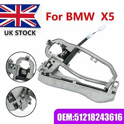 UK Door Handle Carrier Inner Front Right Driver Side Metal For BMW X5 E53