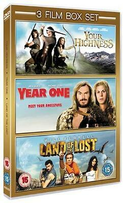 Your Highness / Year One / Land Of The Lost ( Brand New & Sealed )