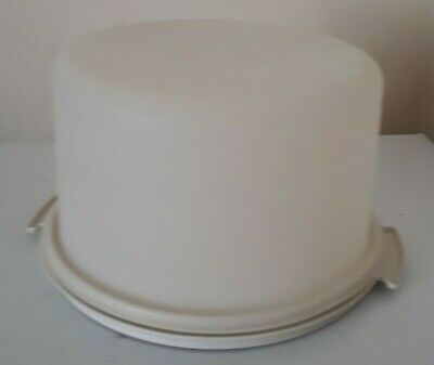 Vintage Tupperware Large Round Cake Taker/Carrier No Handle