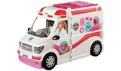 Barbie Care Clinic Vehicle Fun With An Easy Transformation  NEW_UK