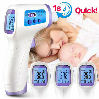 Non-contact Digital LCD IR Laser Infrared Medical Thermometer Gun Baby Body Care