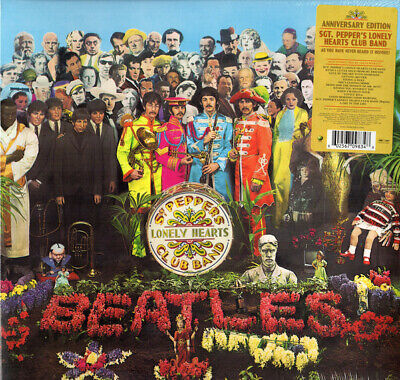 Beatles Sgt Peppers Lonely Hearts Club Band 2017 Stereo Mix US QR pressed vinyl