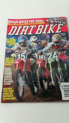 Vintage Dirtbike Magazine June 1993