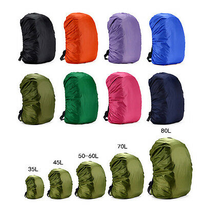 Hot Waterproof Dust Rain Cover Travel Hiking Backpack Camping Rucksack Bag  GN