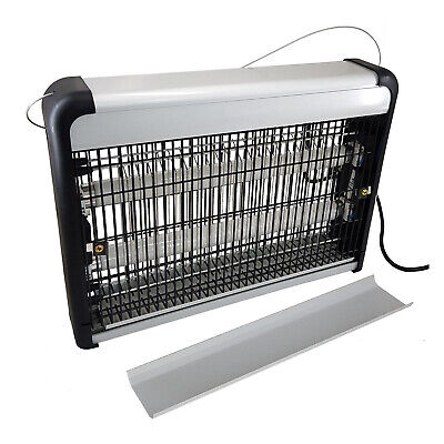 20W Industrial Electric Uv Insect Killer Electronic Mosquito Pest Bug Fly Zapper
