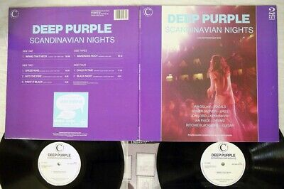 Deep Purple Scandinavian Nights Connoisseur Collection Dp Vsop Lp 125 Uk 2Lp