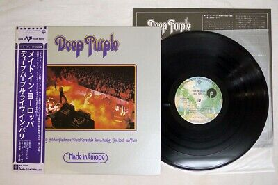 DEEP PURPLE MADE IN EUROPE WARNER P-10262W Japan OBI VINYL LP