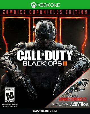 New ~ Call of Duty: Black Ops 3 III Zombies Chronicles Edition Xbox One